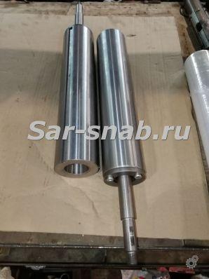 Пиноль задней бабки 1К62Д. Пиноли диаметром до 105 мм.