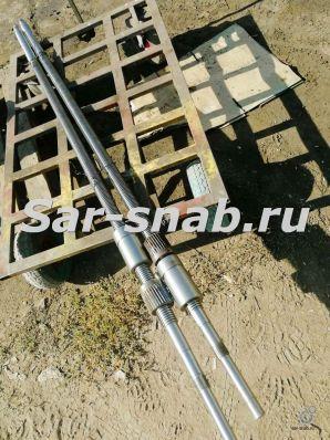 Винт ходовой 6Р82 L=1740 мм с гайками