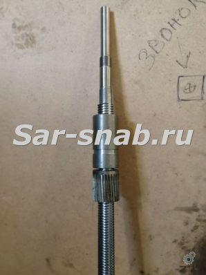 Винт ходовой 6Р13 L=2019 мм с гайками