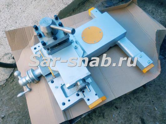 Суппорт и резцедержатель в сборе с кареткой 1К62Д