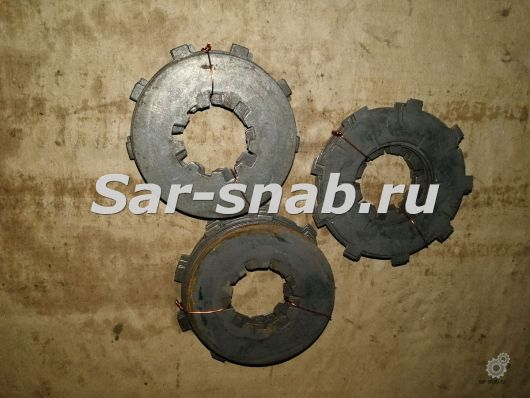 Комплект дисков фрикционных 2А554