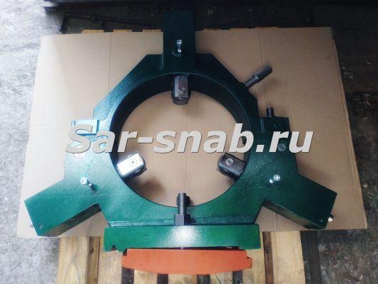 Люнет неподвижный роликовый 1М63, ДИП 300 ф430 мм. Пиноли, ролики и кулачки к люнетам.