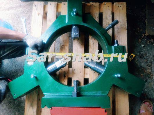 Люнет неподвижный роликовый 1М63, ДИП 300 ф430 мм. Люнеты к станкам.